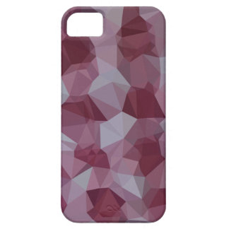 Cornell Red Abstract Low Polygon Background iPhone 5 Cover