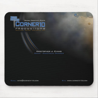 Corner 10 Productions Mousepad