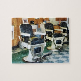Corner Barber Shop Jigsaw Puzzle