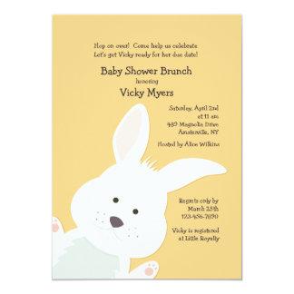 Corner Bunny Invitation
