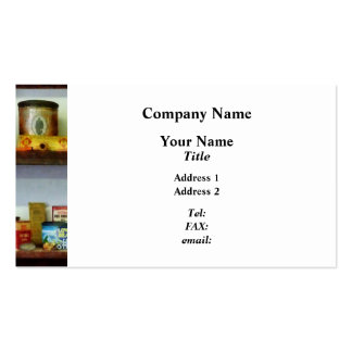 Corner Grocery Store Business Card