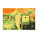 Corner Lot Stretched Canvas Print