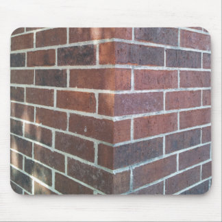 Corner of a Red Brick Building. Mouse Pad