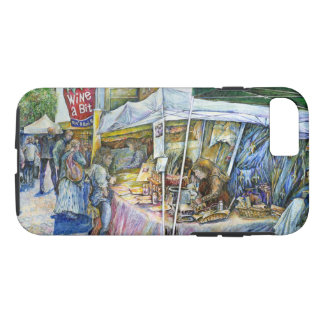 Corner of Flying Pig Farm and Wine a Bit. iPhone 8/7 Case