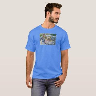 Corner of Flying Pig Farm and Wine a Bit. T-Shirt
