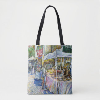 Corner of Flying Pig Farm and Wine a Bit. Tote Bag