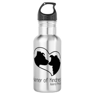 Corner of Kindness Stainless Steel Water Bottle