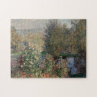 Corner of the Garden at Montgeron - Claude Monet Jigsaw Puzzle