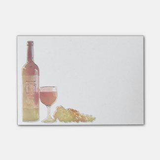 Corner Wine Pastel Post-it Notes