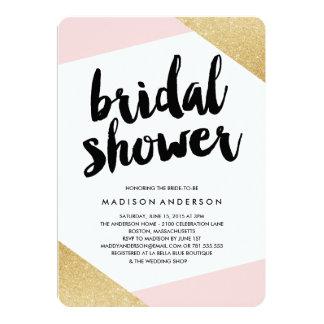 Corners Bridal Shower Invitation