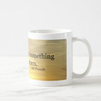 Corners Irish Proverb Classic White Coffee Mug