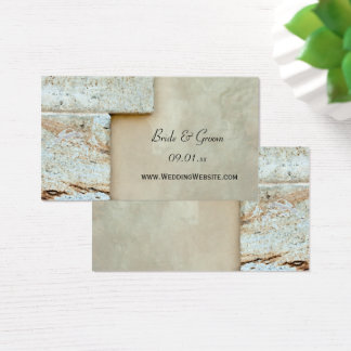 Cornerstones Wedding Website Card