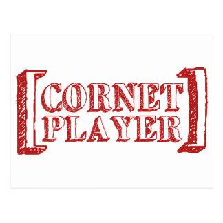 Cornet Player Postcard