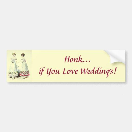 Cornez si vous aimez des mariages ! Adhésif pour p Adhésif Pour Voiture