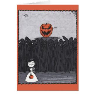 Cornfield Pumpkinhead Card
