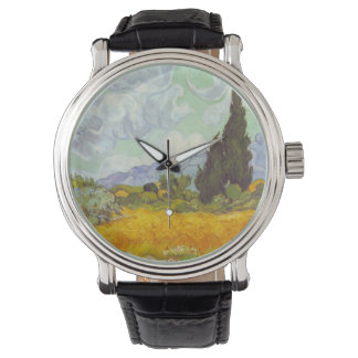Cornfield With Cypresses Watch