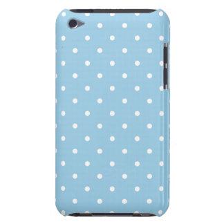 Cornflower 50s Style Polka Dot iPod Touch G4 Case