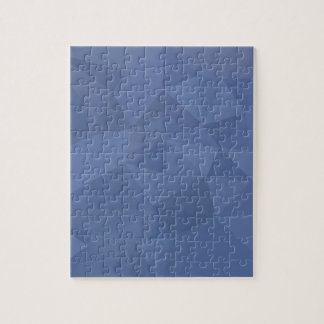 Cornflower Blue Abstract Low Polygon Background Jigsaw Puzzle