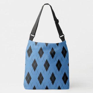 Cornflower-Blue--Argyle-Totes_Bag''s_Multi-Style's Crossbody Bag