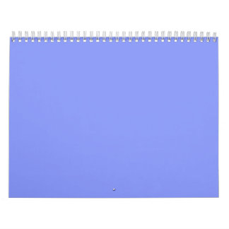 Cornflower Blue Backgrounds on a Calendar