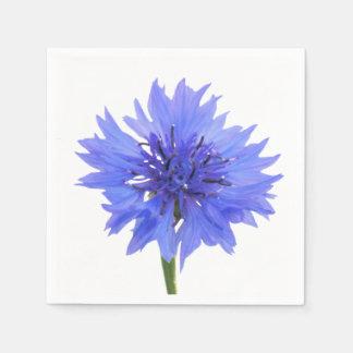 cornflower blue disposable napkin