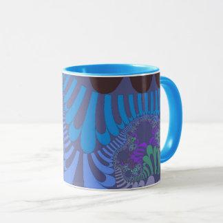 Cornflower Blue Mod Mug