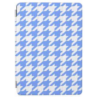 Cornflower Blue Moods Houndstooth iPad Air Cover