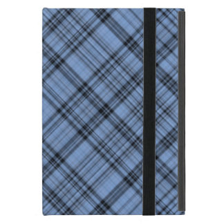 Cornflower Blue Plaid iPad Mini Case