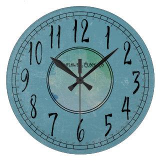 Cornflower Blue with Weathering Clocks