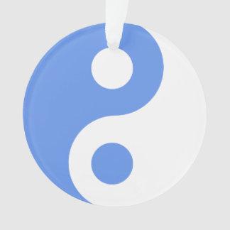 Cornflower Blue Yin Yang Symbol
