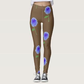 Cornflower legs leggings