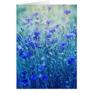 Cornflowers Card