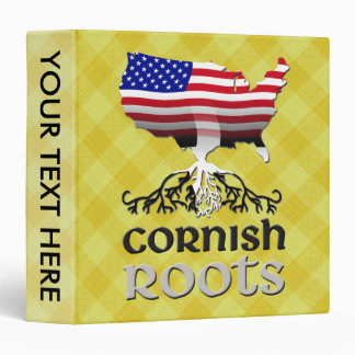 Cornish American Ancestry Roots Binder