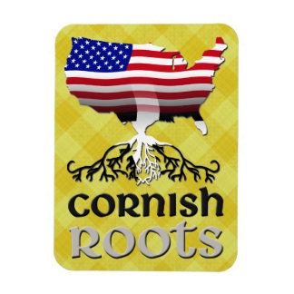 Cornish American Ancestry Roots Magnet