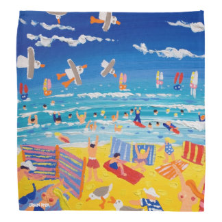 Cornish Beach Bandana by John Dyer