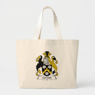 Cornish Family Crest Jumbo Tote Bag
