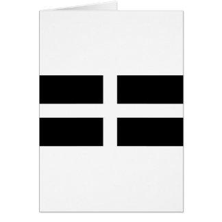 CORNISH FLAG CARD