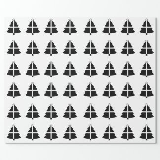 Cornish Flag Christmas Tree Wrapping Paper