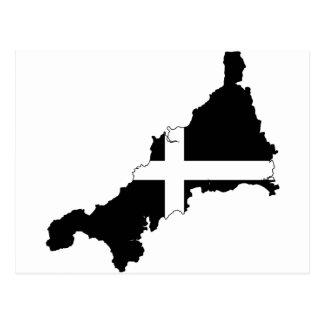 Cornish Flag Postcard