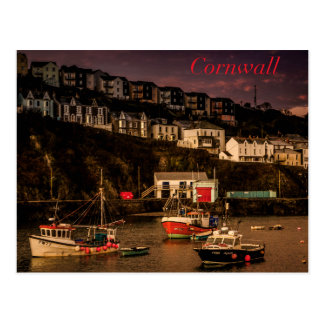 Cornish Harbour Postcard
