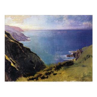 Cornish Headlands Postcard