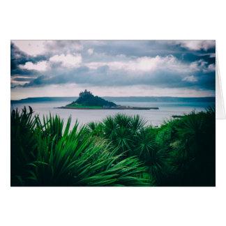 Cornish landscape photographic art card