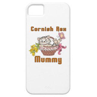 Cornish Rex Cat Mom iPhone 5 Case