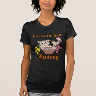 Cornish Rex Cat Mom T-Shirt