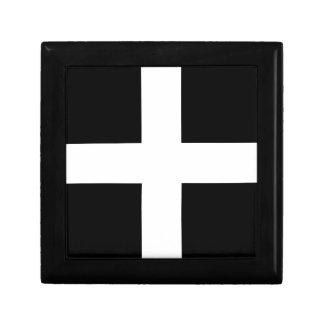 Cornish Saint Piran's Cornwall Flag - Baner Peran Gift Boxes