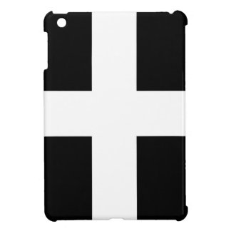 Cornish Saint Piran's Cornwall Flag - Baner Peran iPad Mini Cover