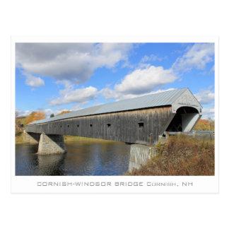 Cornish-Windsor Bridge Postcard