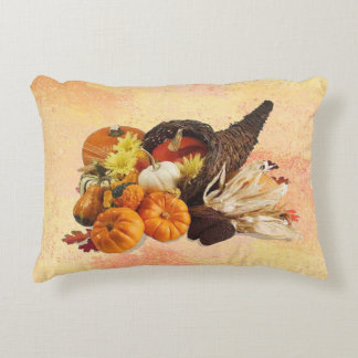 Cornucopia 2 decorative pillow