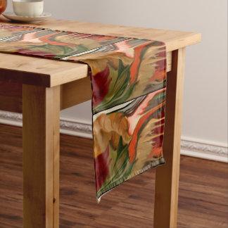 Cornucopia Abstract Art Medium Table Runner