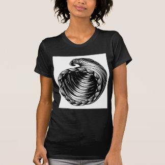 Cornucopia Horn of Plenty Woodcut T-Shirt